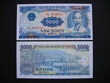 Vietnam 5000 dong 1991 (p108a) UNC
