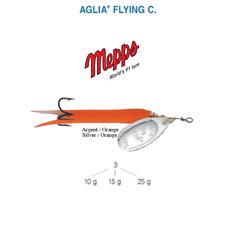 Cuiller MEPPS AGLIA FLYING C  25 g Argent (Silver) / Orange (Orange) New