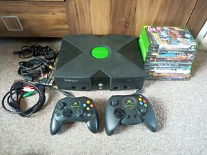 Original Xbox Console with 9 Games Bundle