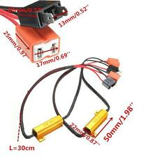 2x H7 50W Headlight Load Resistor Lamp Decoder LED Canbus Connection Resistance