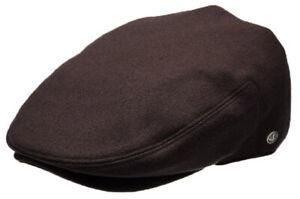 Classic Plain Men's Wool Flat Cap Newsboy Gatsby Ivy Driving Cap