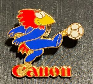 FRANCE 1998 WORLD CUP SOCCER - CANON SPONSOR PIN