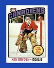 1976-77 Topps Set Break #200 Ken Dryden EX-EXMINT *GMCARDS*