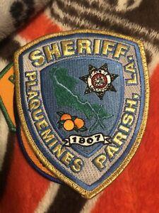 Louisiana  Police -  Plaquemines Pariah Sheriff Parch