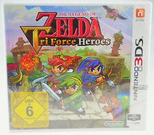 The Legend of Zelda: tri Force Heroes Nintendo 3ds DS nuevo sealed soldada