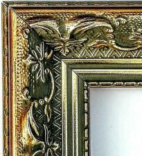 40 ft - Arquadia Ornate Gold Picture Frame Moulding, Victorian, High Scoop