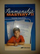 Abeka 5th Grade Penmanship Mastery II Language Arts Student Text Writing 5 Fifth