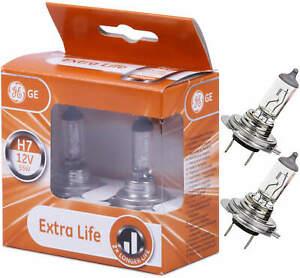 H7 Extra Life 58520DPU headlight bulbs 2 pc.