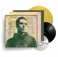 LIAM GALLAGHER Why Me? Why Not. BOXSET VINYL COLLECTORS LTD EDITION