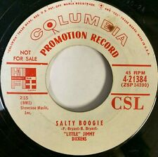 Rockabilly 45 LITTLE JIMMY DICKENS Salty Boogie COLOMBIA