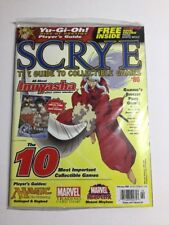 Scrye #80 MTG & CCG Price Guide Magazine *SEALED*
