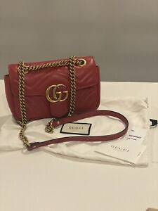 Gucci GG Marmont Mini Matelassé Shoulder Bag