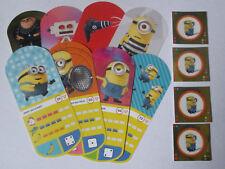 Lot carte + vignette Auchan - Moi moche et méchant 3 (8 cartes + 4 vignettes)