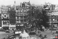 Time Life Piccadilly Circus London 1942 Photo Art Print Poster 12x18