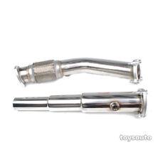 "Rev9 3""-2"" Catless Turbo Downpipe Down pipe for VW Golf Jetta MK4 1.8T 99-04"