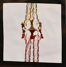 Christmas Foil Decoration Garland 2.7 Metre Red Gold Party Hanging Xmas