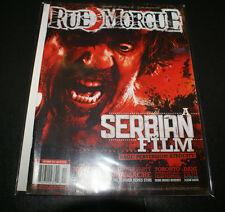 2010 RUE MORGUE MONSTER HORROR MAGAZINE #106 SERBIAN FILM SLUMBER PARTY MASSACRE