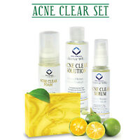 Relumins Medicated Professional Acne Clear Set with Acne Fighting Botanicals