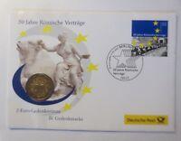 Numisbrief 50 Jahre Römische Verträge  1997 ♥ (5376)