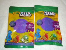 2 New Crayola Model Magic 4 Oz Each Purple