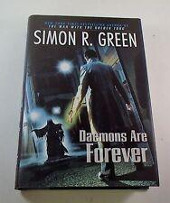 Secret Histories: Daemons Are Forever by Simon R. Green HC/DJ 1st Ed/1st print