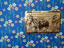 MAGIC KNIGHT RAYEARTH LUCHADORAS DE LEYENDA SEGA gold card