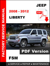 JEEP LIBERTY DIESEL 2008 2009 2010 2011 2012 SERVICE REPAIR WORKSHOP MANUAL
