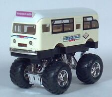 "Sunnyside GM GMC Old Look Short City Bus 5"" Die Cast 1:48 Scale Model 4 x 4"