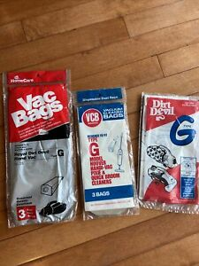 Dirt Devil Type G Bags 8 Bags Aftermarket Royal