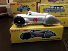Dinky Toys Auto Union Racing Car 23D Metal in scatola [t42]