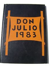 1983 Don Julio Middle School / Junior Jr High Yearbook North Highlands CA