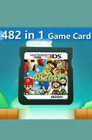 New 482 in 1 Game NDS NDSL 2DS 3DS 3DSLL NDSI Super Mario Video Game Cartridge