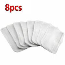 8pcs Microfiber Replacement Mop Pads For Shark Steam Mop S3251 S3202 XT3010 Set