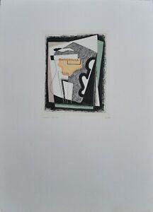 Luigi Veronesi litografia Composizione N 6  70x50 1934/1976 firmata numerata