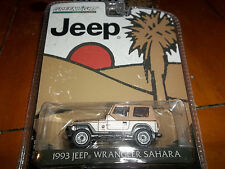 GREENLIGHT 1/64 HOBBY EXCLUSIVE 1993 JEEP WRANGLER SAHARA