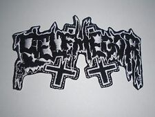 BELPHEGOR DEATH/BLACK METAL IRON ON EMBROIDERED PATCH