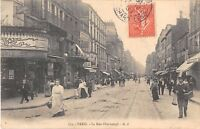 CPA 75 PARIS XIe LA RUE OBERKAMPF