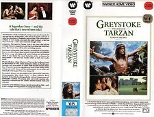 GREYSTOKE -THE LEGEND OF TARZAN -VHS -PAL -NEW-Never played!-Original Oz release
