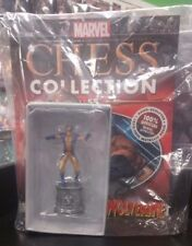 Marvel Eaglemoss Chess Collection Piece + Mag #55 Wolverine White Knight Sealed