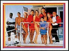 Baywatch Group Shot #2 Baywatch Merlin 1993 Sticker (C1255)