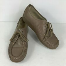 SAS 7 Shoes Oxford Moccasins Womens Comfort Leather Casual