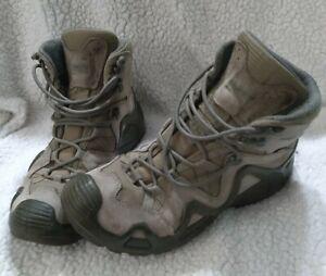 LOWA ZEPHYR GTX Mid Boot Tactical Gore-Tex Men's US Size 9 Beige Brown