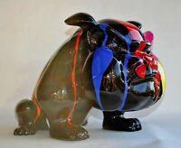 Chien Bulldog Français Design - Résine