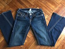 Original True Religion Women Boot cut Blue Jeans Size 29