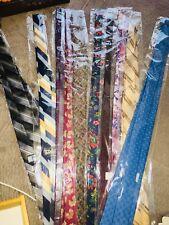 Bulk Lot Of Mens Neck Ties Dress Suit Neckties 10 Tie Bundle
