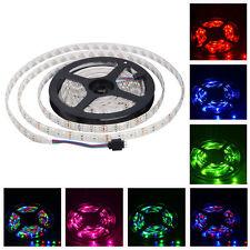 12V Flexible RGB LED Strip Lights Waterproof 3528 SMD 5M 300LEDs Home Car Decor