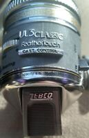 Vintage ZEBCO UL3 CLASSIC FEATHERTOUCH Ultralight Fishing Reel. Made in USA. NEW