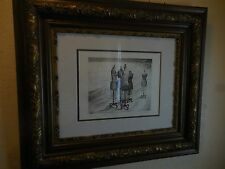 "Limited-Ed 19/20 Lithograph on Paper ""Conversation Suite"" (III) by Belle Osipow"