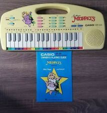 1987: EP-20 Casio: Electronic Keyboard Featuring Muppets with Music Book: WORKS