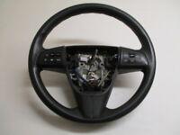 2011 Mazda 3 Steering Wheel w/Radio & Cruise Control OEM LKQ